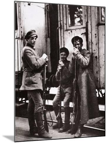 Young Red Guards-Russian Photographer-Mounted Photographic Print