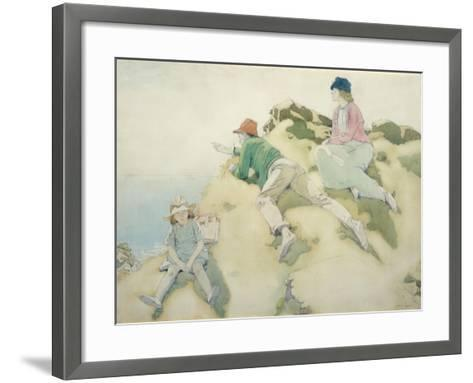 The Yacht Race (Dublin Bay)-Sir William Orpen-Framed Art Print