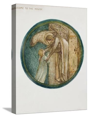 The Flower Book: XXXI. Welcome to the House, 1905-Edward Burne-Jones-Stretched Canvas Print
