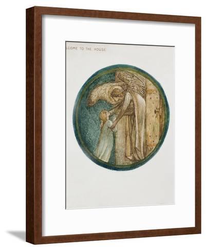 The Flower Book: XXXI. Welcome to the House, 1905-Edward Burne-Jones-Framed Art Print