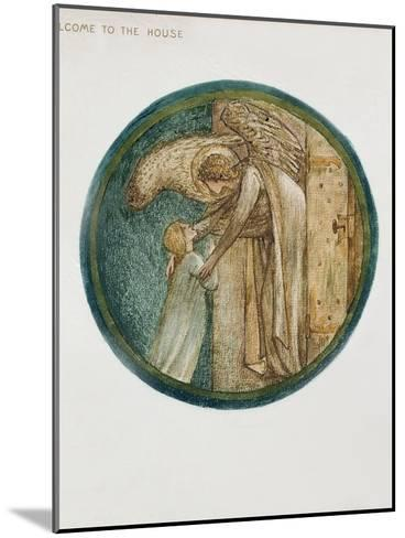 The Flower Book: XXXI. Welcome to the House, 1905-Edward Burne-Jones-Mounted Giclee Print