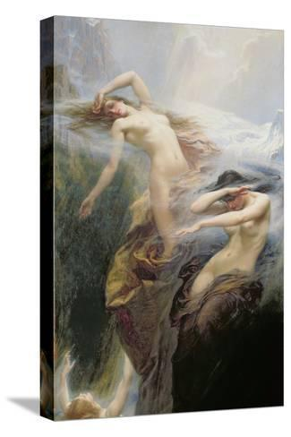 The Mountain Mists Or, Clyties of the Mist, 1912-Herbert James Draper-Stretched Canvas Print