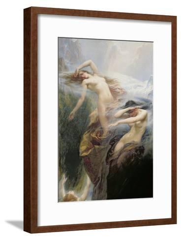 The Mountain Mists Or, Clyties of the Mist, 1912-Herbert James Draper-Framed Art Print