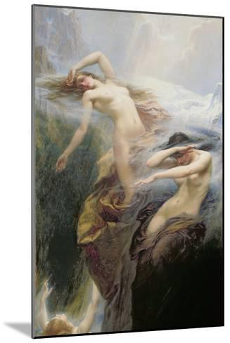 The Mountain Mists Or, Clyties of the Mist, 1912-Herbert James Draper-Mounted Giclee Print