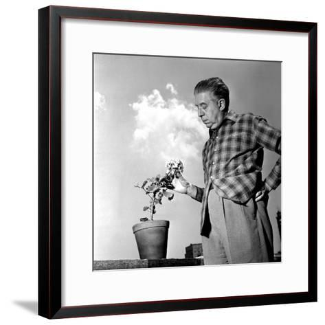 Eugenio Montale, 11th December 1960--Framed Art Print
