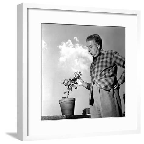 Eugenio Montale, 11th December 1960--Framed Art Print