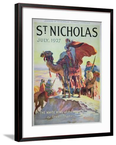 Front Cover of St. Nicholas Magazine, July 1927-American School-Framed Art Print