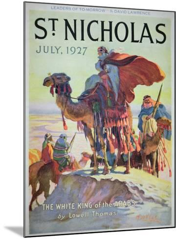 Front Cover of St. Nicholas Magazine, July 1927-American School-Mounted Giclee Print