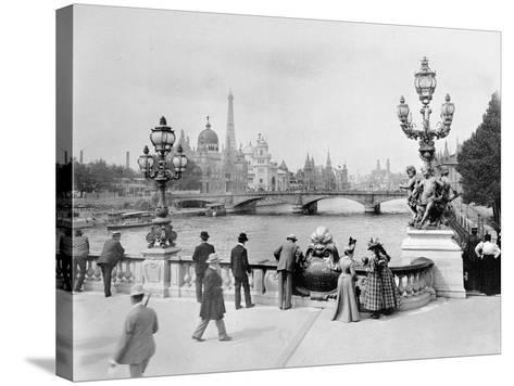 Pont Alexandre III - Exposition Universelle de Paris En 1900-French Photographer-Stretched Canvas Print