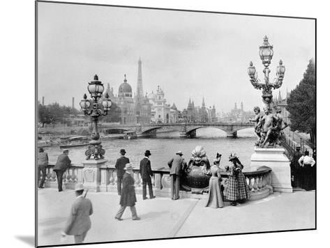 Pont Alexandre III - Exposition Universelle de Paris En 1900-French Photographer-Mounted Photographic Print