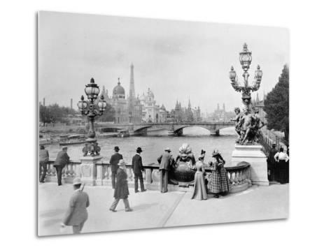Pont Alexandre III - Exposition Universelle de Paris En 1900-French Photographer-Metal Print