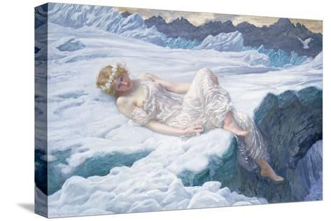 Heart of Snow, 1907-Edward Robert Hughes-Stretched Canvas Print