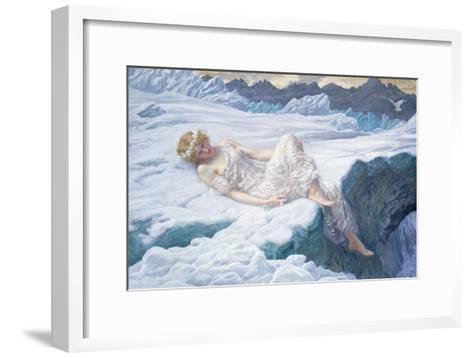 Heart of Snow, 1907-Edward Robert Hughes-Framed Art Print