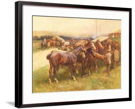 Brough Hill-John Atkinson-Framed Art Print