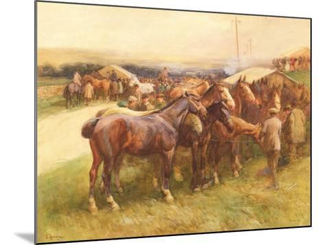Brough Hill-John Atkinson-Mounted Giclee Print