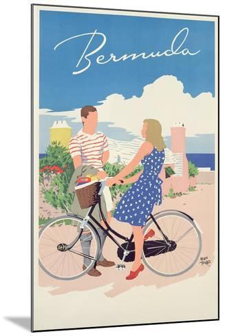 Poster Advertising Bermuda, c.1956-Adolph Treidler-Mounted Giclee Print