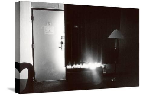 Motel Bedroom, IL, 2006--Stretched Canvas Print