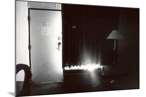 Motel Bedroom, IL, 2006--Mounted Photographic Print