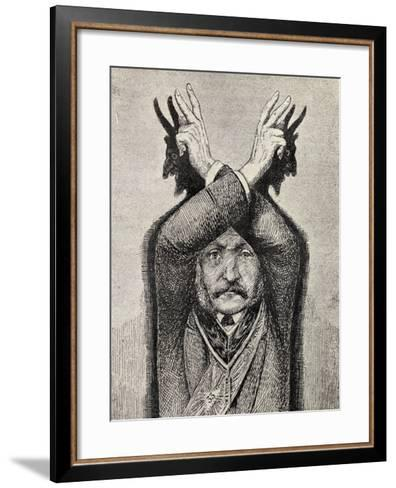 Devil Worship, from 'The Freemason', by Eugen Lennhoff, Published 1932--Framed Art Print
