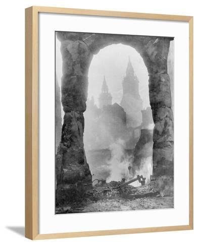 Battered Berlin-English Photographer-Framed Art Print