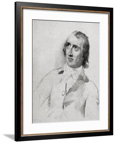 William Godwin (1756-1836) Aged 48, from 'The Life of Charles Lamb, Volume I' by E.V. Lucas,…-English School-Framed Art Print