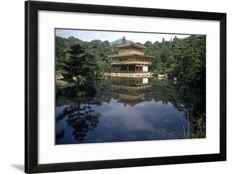 View of the Temple-Japanese School-Framed Art Print