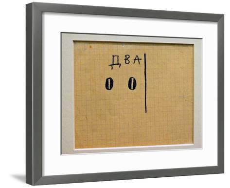 A Logical Composition-Kasimir Malevich-Framed Art Print