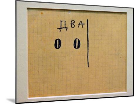 A Logical Composition-Kasimir Malevich-Mounted Giclee Print