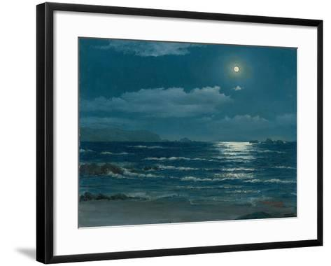 Full Moon, Pichilemu, Chile, 1958-Horacio G. Garcia-Framed Art Print