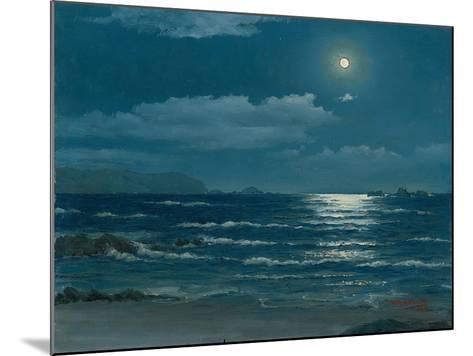 Full Moon, Pichilemu, Chile, 1958-Horacio G. Garcia-Mounted Giclee Print