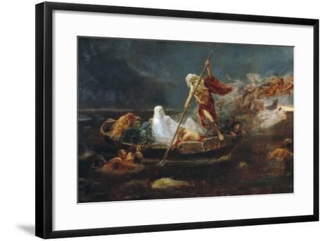 Charon's Boat-Jose Benlliure Y Gil-Framed Art Print