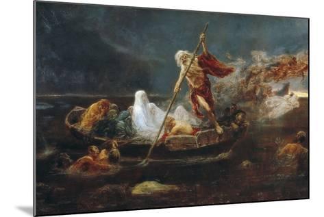Charon's Boat-Jose Benlliure Y Gil-Mounted Giclee Print