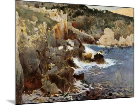 Enchanted Cove, Majorca, c.1901-Joaquin Mir Trinxet-Mounted Giclee Print