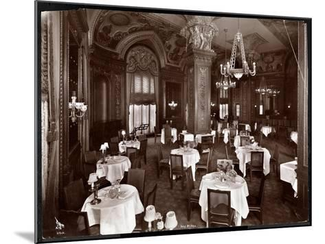 The Ladies' Cafe at the Hotel McAlpin, 1913-Byron Company-Mounted Giclee Print