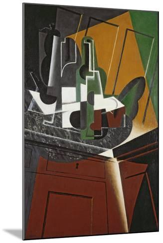 The Sideboard, 1917-Juan Gris-Mounted Giclee Print