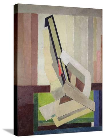 Vorticist Composition, c.1914-15-Lawrence Atkinson-Stretched Canvas Print