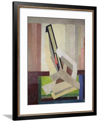 Vorticist Composition, c.1914-15-Lawrence Atkinson-Framed Art Print
