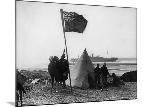 Wreck of the Delhi on the Moroccan Coast, December, 1911-Thomas E. & Horace Grant-Mounted Photographic Print
