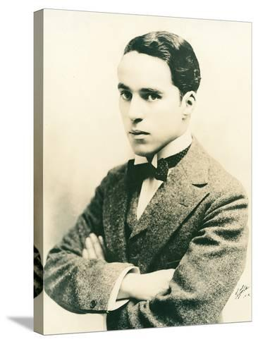 Charlie Chaplin, c.1916-American Photographer-Stretched Canvas Print