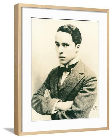 Charlie Chaplin, c.1916-American Photographer-Framed Art Print