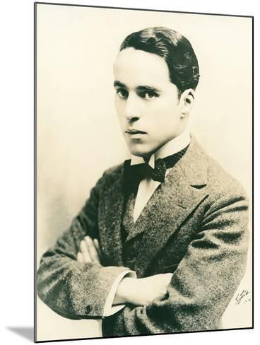 Charlie Chaplin, c.1916-American Photographer-Mounted Photographic Print