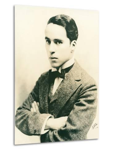 Charlie Chaplin, c.1916-American Photographer-Metal Print