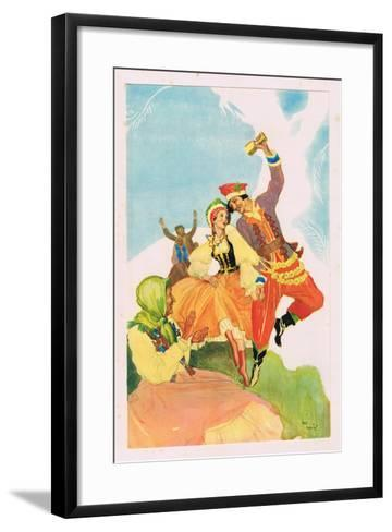 The Land of the Rainbow-Violet Mason-Framed Art Print
