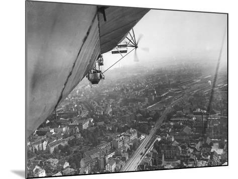 Aerial View from a Zeppelin-Thomas E. & Horace Grant-Mounted Photographic Print