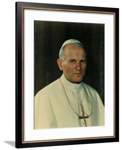 Pope John Paul II, 1978--Framed Art Print