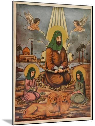 Pakistani Folk Print--Mounted Giclee Print