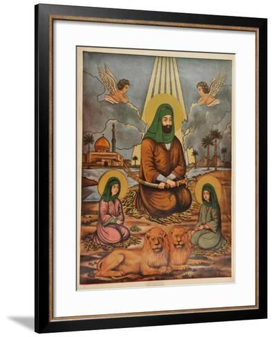 Pakistani Folk Print--Framed Art Print
