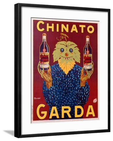 Advertisement for Chinato Garda, c.1925-Linza Bouchet-Framed Art Print
