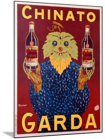 Advertisement for Chinato Garda, c.1925-Linza Bouchet-Mounted Giclee Print
