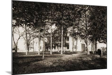 The Hermitage, Nashville, Tennessee, 1915-American School-Mounted Giclee Print